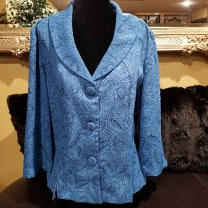Calming and lovely blue jacket